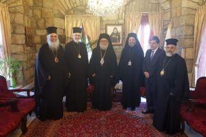 Αντιπροσωπεία του Οικουμ. Πατριαρχείου στο Πατριαρχείο Αντιοχείας