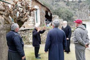 Ο Κυδωνίας Δαμασκηνός στις πληγείσες περιοχές της επαρχίας του
