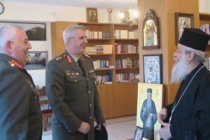 Στον Μητροπολίτη Φθιώτιδος Νικόλαο ο νέος Διοικητής του ΚΕΥΠ και ο απερχόμενος