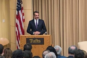 Μεγάλη δύναμη η Ομογένεια, δήλωσε ο Κυριάκος στο Tufts
