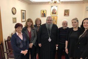 Ο Σύλλογος Κυπρίων της Λάρισας επισκέφθηκε τον Μητροπολίτη κ. Ιερώνυμο