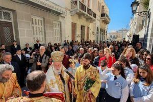 Κυριακή της Ορθοδοξίας στην Ιερά Μητρόπολη Σύρου