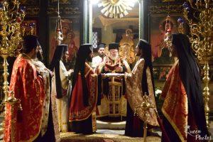 Μνήμη του νέου Ιερομάρτυρος Αγίου Παρθενίου του εν Διδυμοτείχω αθλήσαντος