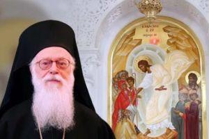 """Ο Αρχιεπίσκοπος Αλβανίας Αναστάσιος: """"Περί του Ουκρανικού ζητήματος. Δευτέρα απόκριση αληθεύοντες εν αγάπη»: Και ξεκαθαρίζει ότι σε περίπτωση σχίσματος η Εκκλησία της Αλβανίας θα παραμείνει σταθερά δίπλα στο Οικουμενικό Πατριαρχείο."""