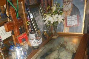 Πέρασαν 13 χρόνια από την ανακομιδή του Αφθάρτου Ιερού Λειψάνου του Αγίου Γέροντος Βησσαρίωνιος