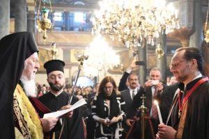 Χειροθεσία νέου Άρχοντος Οφφικιάλιου από τον Οικουμενικό Πατριάρχη