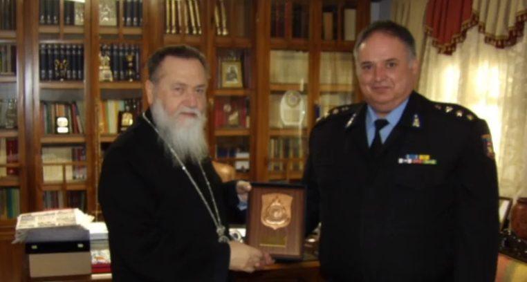 Συνάντηση του Κορίνθου Διονυσίου με το νέο διοικητή Π.Σ.