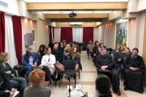 Μία αξιέπαινη πρωτοβουλία του Πρωτοσυγκέλλου της Ι. Αρχιεπισκοπής Αθηνών: Κοινή σύσκεψη στελεχών της Αρχιεπισκοπής και της Βοηθού Συνηγόρου του Πολίτη για τα Δικαιώματα του Παιδιού