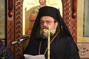 Στην Κορώνη για τη Γ΄ Στάση των Χαιρετισμών ο Μητροπολίτης Μεσσηνίας