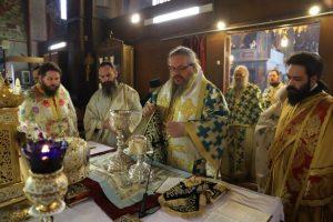 Η μνήμη του  ταπεινού μεγάλου Αγίου Νικολάου Πλανά συνάθροισε πλήθη πιστών στον Άγιο Ιωάννη( Κυνηγό)