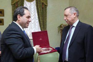 Επίσκεψη του Πολιτικού Διοικητή του Αγίου Όρους στην Ρωσία