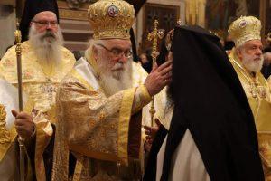 Χειροτονήθηκε σήμερα ο  νέος Μητροπολίτης  Σισανίου και Σιατίστης Αθανάσιος