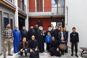 Ο Πατριάρχης Αλεξανδρείας Θεόδωρος στην Εξαρχία του Παναγίου Τάφου στην Κύπρο