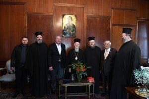 Οι Μητροπολίτες Ρούσσε Ναούμ  και Φιλίππων, Νεαπόλεως και Θάσου Στέφανος  στο Οικουμενικό Πατριαρχείο
