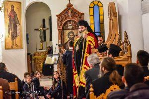 Η Εβδομάδα Ιερατικών  Κλήσεων  στην Ι. Μητρόπολη Λαγκαδά, ολοκληρώθηκε με  τον Μ. Εσπερινό της Σταυροπροσκυνήσεως
