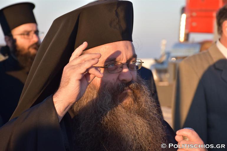 """Χίου Μάρκος: """"Θέλουμε μία πατρίδα που κεφαλή της θα είναι ο Χριστός"""""""