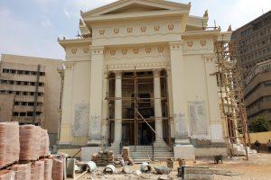 Δείτε πως μεταμορφώνεται ο ναός των Αγ.Κωνσταντίνου και Ελένης στην Ελληνική Κοινότητα Καΐρου