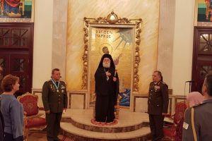 Ο Πατριάρχης Αλεξανδρείας τίμησε τον Αρχηγό της Εθνικής Φρουράς της Κύπρου
