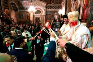 Η Ακολουθία της Αναστάσεως στον ιερό Μητροπολιτικό ναό Αθηνών