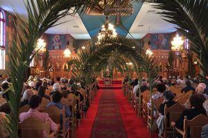 Κυριακή των Βαίων στον Προφήτη Ηλία Νόργουντ, Νοτίου Αυστραλίας.