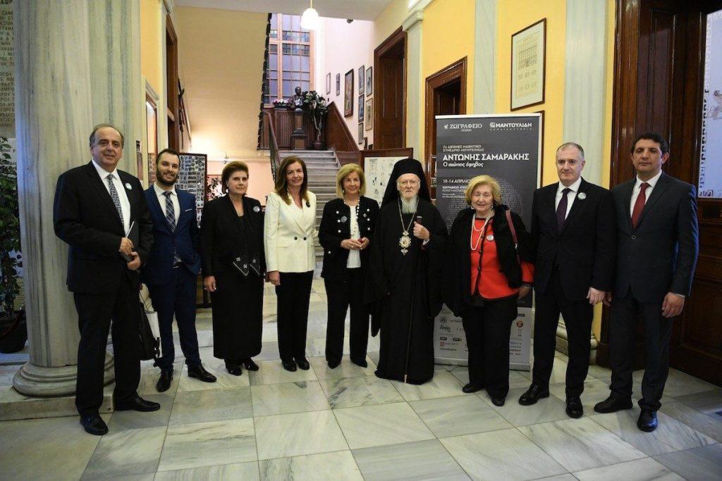 Ο Οικουμενικός Πατριάρχης κήρυξε την έναρξη του 7ου Διεθνούς Μαθητικού Συνεδρίου Λογοτεχνίας που πραγματοποιείται στην Πόλη