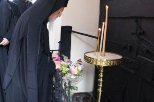 Τη μνήμη του μεγάλου  προκατόχου του Γρηγορίου Ε' τίμησε ο Οικουμενικός Πατριάρχης Βαρθολομαίος