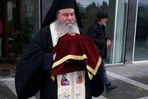 Υποδοχή Αχράντων Παθών στην Τρίπολη