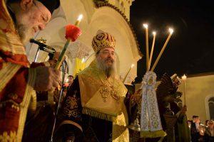Μεγαλειώδης καί λαμπρά ἡ ἑορτή τοῦ Πάσχα στήν Πάτρα.