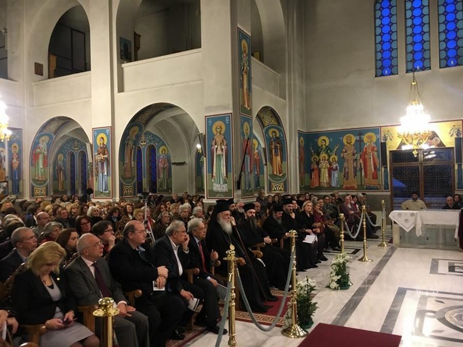 Ο Αρχιεπίσκοπος Ιερώνυμος στον Αγ. Αθανάσιο Πολυδρόσου