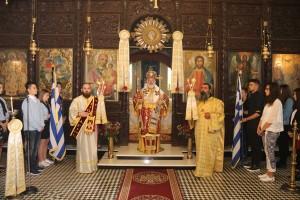 Ο λαμπρός αριστεύς Γεώργιος εορτάσθηκε από τους ακρίτες μας στην Ι.Μητρόπολη Διδυμοτείχου Ορεστιάδος & Σουφλίου