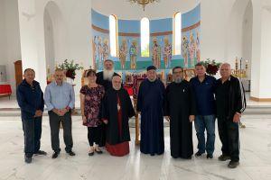 Ο Μητροπολίτης Βρυούλων Παντελεήμων σε νεοανεγερθέντα ναό στην μακρινή Αδελαΐδα
