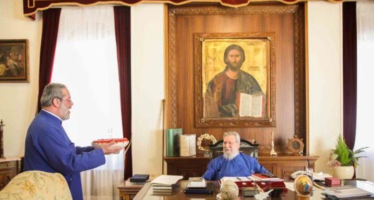 Εόρτασαν με αγάπη τα 78α γενέθλια του Αρχιεπισκόπου Κύπρου Χρυσοστόμου Β ´
