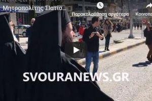 Ο ενθουσιώδης και συγκινητικός τρόπος που υποδέχθηκε ο λαός  της Καστοριάς τον «δικό τους» άνθρωπο- νέο Μητροπολίτη Σισανίου  Αθανάσιο