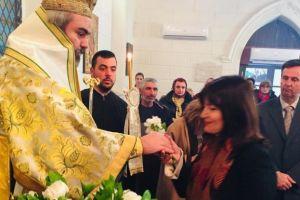 Κυριακή της Σταυροπροσκυνήσεως στην Αγία Φωτεινή στην μαρτυρική Σμύρνη