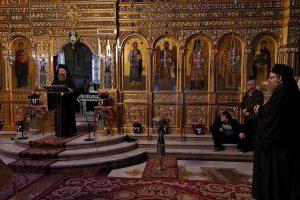 Αρχιμ. Επιφάνιος Οικονόμου από τον Άγιο Νικόλαο Λαρίσης: «H Μετάνοια Στην Κλίμακα Του Οσίου Ιωάννου Του Σιναΐτου»