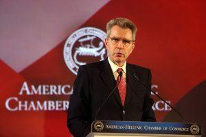 Ο «Εθνικός Κήρυκας» Νέας Υόρκης ζητά να ανακληθεί ο Αμερικανός Πρέσβης από την Ελλάδα