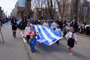 Η παρέλαση της Ομογένειας στη Βοστώνη