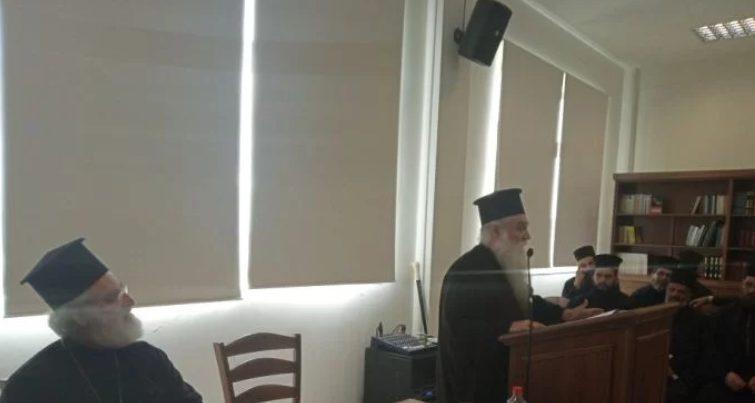 You are currently viewing Ιερατική Σύναξη στη Μητρόπολη Αρκαλοχωρίου