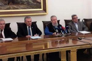 """Αυστηρό μήνυμα του Αρχιεπισκόπου Κύπρου Χρυσοστόμου προς την Τουρκία: """"Θέλουμε να ξέρουμε για τους αγνοουμένους"""""""