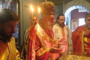 Ο εορτασμός του Αγίου Γεωργίου στην Μητρόπολη Σύρου