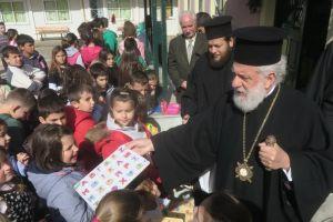 Ποιμαντική επίσκεψη του Μητροπολίτη Σύρου στα εκπαιδευτήρια όλων των βαθμίδων της Κέας