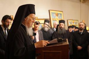 Ο Οικουμενικός Πατριάρχης εγκαινίασε έκθεση αγιορείτικης τέχνης στο Σισμανόγλειο