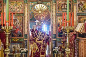 Η Θ. Λειτουργία της Μεγάλης Πέμπτης στον Άγιο Νικόλαο Λαγυνών από τον Σεβ. Λαγκαδά Ιωάννη