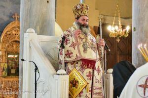 Ο Μητροπολίτης Λαγκαδά Ιωάννης λειτούργησε στον  ιστορικό παλαιοχριστιανικό Ι.Ναό της Παναγίας της Αχειροποιήτου Θεσσαλονίκης (5ος αι.).