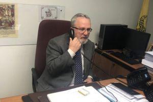 Διάκριση τιμής και αναγνώρισης για τον Γ.Βασιλείου, διευθυντή γραφείου τύπου της Ι. Συνόδου