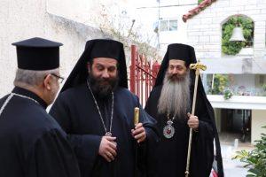 Με πανηγυρικό εσπερινό εγκαινίασε τη νέα αρχιερατική του περιφέρεια ο φιλακόλουθος και ακούραστος Επίσκοπος  Θεσπιών Συμεών