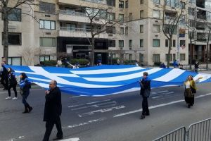 Ελλάδα θα θυμίζει σήμερα  η 5η Λεωφόρος στη Νέα Υόρκη – Παρέλαση με Εύζωνες, αφιερωμένη στα 100 χρόνια από τη Γενοκτονία των Ποντίων