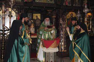Κυριακή των Βαΐων 2019 στην Ιερά Μονή στο Τρίκορφο Φωκίδος