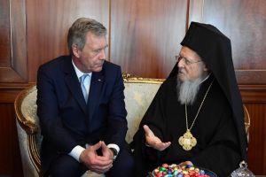 Επίσκεψη του πρώην Προέδρου της Ομοσπονδιακής Δημοκρατίας της Γερμανίας κ.Christian Wulff,στο Οικουμενικό Πατριαρχείο