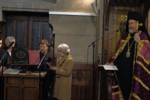 Η Δ΄ Στάση των Χαιρετισμών στον Ι. Ναό Αγίου Στεφάνου Παρισίων